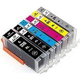 キヤノンインクカートリッジ371 canonインク371 互換インク BCI-371XL+BCI-370XL 6色マルチパック 大容量 1年保証 ICチップ残量表示 MXRFactory