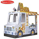 Melissa & Doug Cardboard Indoor Food Truck Playhouse