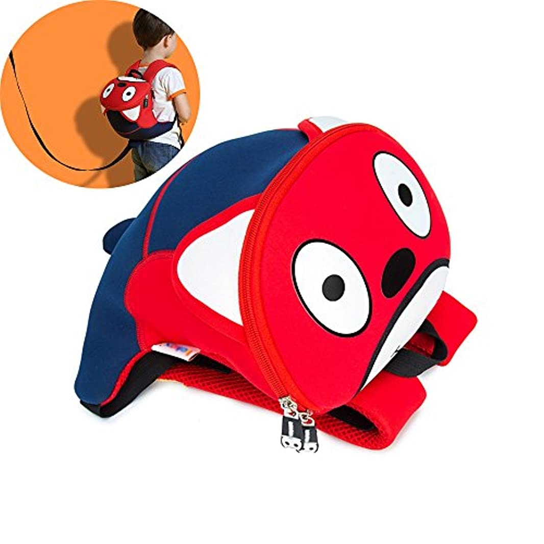 慣性帳面遅い幼児のバックパック防水子供の学校のバッグ犬の赤ちゃんバッグアンチロストリーシュ