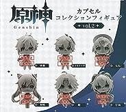 原神 カプセルコレクションフィギュア vol.2 全6種セット ブシロード