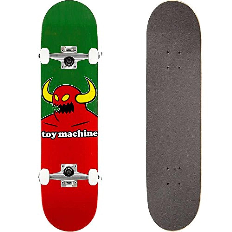 TOY MACHINE(トイマシーン) スケートボード コンプリート (完成品) MONSTER #03 L. GREEN 【高品質パーツ使用 ブランド純正品】 スケボー C15131lgr (8 x 31.625)