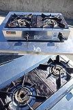 リンナイ 業務用ガスコンロ(都市ガス12A・13A用) 【スタンダードタイプ】 2口 RSB-206A-13A