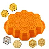 Best Bakewares - LSHCX Bee Honeycomb Shape Cake Molds Silicone Baking Review