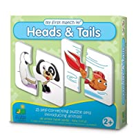 The Learning Journey My First Match It, Head and Tails by The Learning Journey