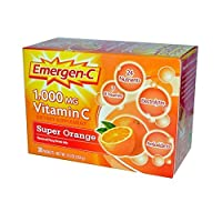 EmergenC, Super Orange, 30 Packets (Pack of 4)