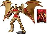 McFarlane Toys DC マルチバース ヘルバット ゴールドエディション 7インチ アクションフィギュア
