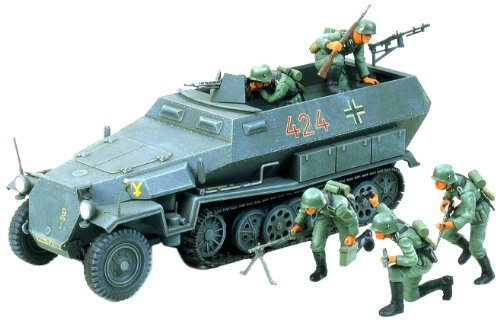 タミヤ 1/35 ミリタリーミニチュアシリーズ No.20 ドイツ陸軍 ハノマーク 兵員輸送車 プラモデル 35020