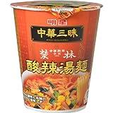 【ケース販売】中華三昧タテ型 赤坂榮林 酸辣湯麺 66g×12個