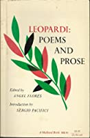 Leopardi: Poems and Prose
