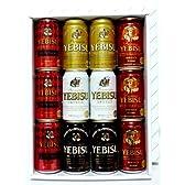 エビスビール 5種 350ml×12缶 飲み比べセット(華やぎの時間、琥珀エビス入り)