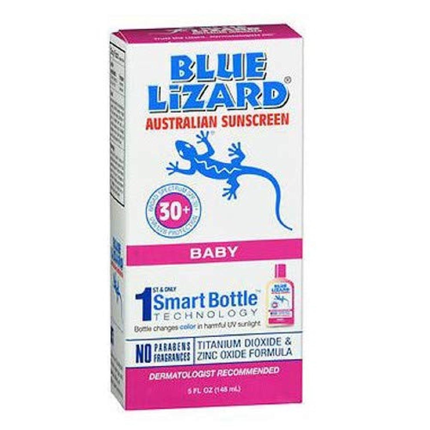 セラフ懲戒アセBlue Lizard Australian Sunscreen ブルーリザードオーストラリアのサンスクリーン敏感SPF#30 + 5オンス(145Ml)(2パック)