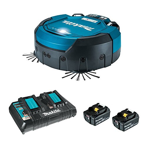 マキタ ロボットクリーナーRC200DZSP 6.0Ahバッテリー2個&充電器付フルセット(アクセサリ収納バッグ付)