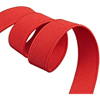 Braided Elastic Cord,Mask Rope 1.5cm Thick Colored Shuttleless High Elastic Band