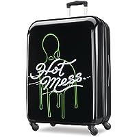 American Tourister Nickelodeon Slime Hardside Spinner 21, Black/Green (Multi) - 107676-7124