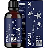 Essential Oils Aromatherapy Sleep Aid - Pure Ylang Ylang Chamomile Sage and Lavender Essential Oils for Diffuser - Mood Suppo