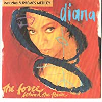 """The Force Behind The Power / Supremes Medley - Diana Ross 7"""" 45"""