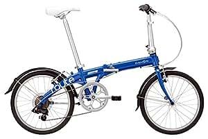 DAHON(ダホン) Route 7speed 折りたたみ自転車 2017年モデル 20インチ コバルトブルー 17TOUYBL00