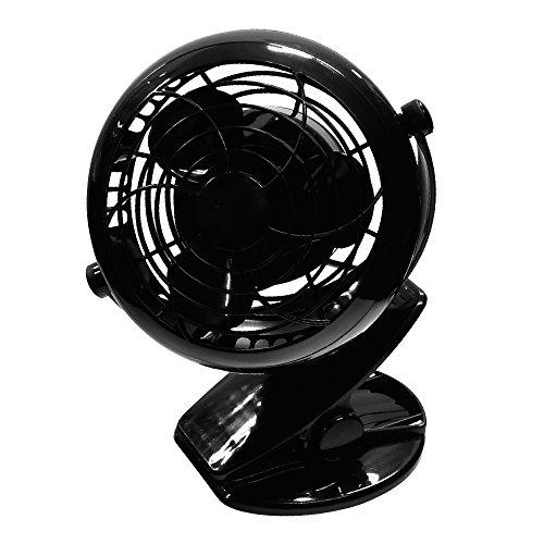 メルテック USBプッチファン(車内扇風機) ブラック DC...