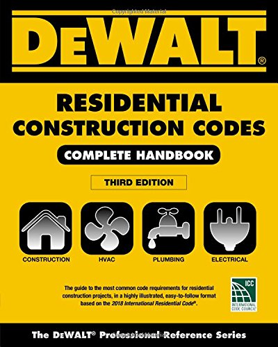 Download DeWalt Residential Construction Codes: Complete Handbook 1337271411