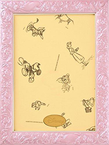 [해외]퍼즐 프레임 디즈니 전용 아트 피겨 패널 108 피스 용 펄 핑크 (18.2x25.7cm)/Puzzle frame Disney exclusive art figure figure panel 108 pieces Pearl pink (18.2 x 25.7 cm)