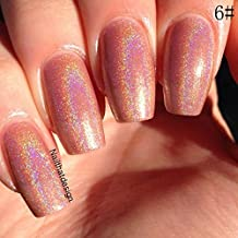 Niome 6ml Holographic Nail Art Polish Glitter Hologram Effect Sexy Charms Fast Dry 06#