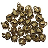 Brass Loose kathak Ghungroo, Ghungroo Bells (100 Pcs) Indian Anklets/Loose Beads - Bellydance Music Classes Craft | Bells for