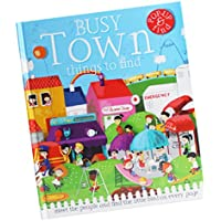 fityle 3d Pop Up Books for Kids Boys Girls (Story Book、ベビーブック、子供たちのBook) – A Busy町
