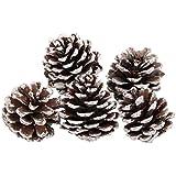 【ノーブランド品】9PCS クリスマス 松ぼっくり 飾り ぶら下げ クリスマスツリー パーティー