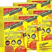 【6箱】目指せ体重10kgダイエット+ドッカン脂肪20%ダイエット粒 (6粒x75袋)x6箱 (4945904010341)