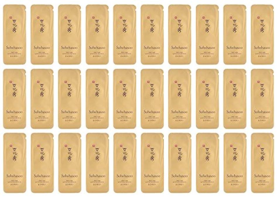 ラグ保守的戦士【ソルファス 雪花秀 Sulwhasoo】 潤燥 ユンジョ エッセンス First Care Activating Serum EX(30ml) 1ml x 30個 韓国化粧品 ブランドのサンプル [並行輸入品]