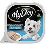 MY DOG Chicken Supreme Wet Dog Food 100g Tray, 24 Pack, Adult, Small/Medium