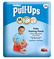 Huggies? Pull-Ups Boys Economy Pack Size 5 Potty Training Pants - 26Pack - Huggies?プルアップの男の子経済パックサイズ5トイレトレーニングパンツ - 26Pack (Huggies) [並行輸入品]