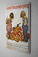 Retro Tin Sign ブリキ看板 Wall Decor Plate Thanksgiving household child Metal Wall