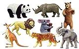 スカイネット 立体パズル 世界の動物 BOX