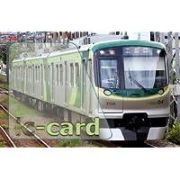 電車 鉄道 ICカードステッカー 東急 池上線 t-ig-1