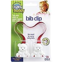 Marque Baby Buddy - Bébé copain clip Bib, ROUGE