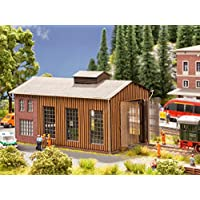 Noch 66201 Engine Shed with Micro Motion Gate Drive Landscape Modelling (Small)