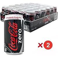 コカ・コーラ ゼロ クラブマルチ Coca Cola zero 350ml缶×30缶 2ケース 2 cases