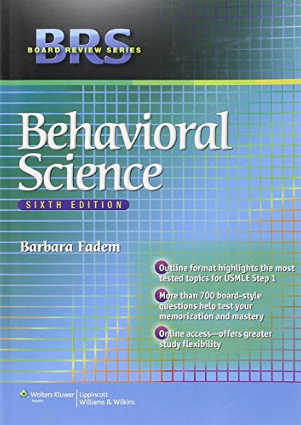 予測するはっきりしないドームBRS Behavioral Science (Board Review Series)