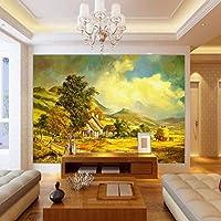 Lixiaoer 写真の壁紙3Dの壁紙ヨーロッパの牧歌的な風景のリビングルームの壁紙カスタムベッドルーム高品質の壁画-280X200Cm