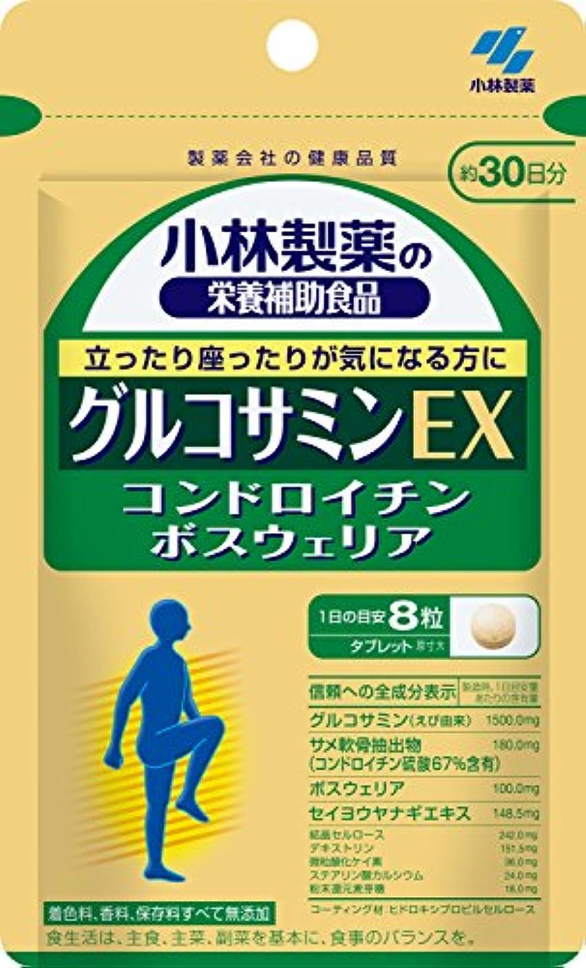 適性誰も広告する小林製薬の栄養補助食品 グルコサミンEX 約30日分 240粒