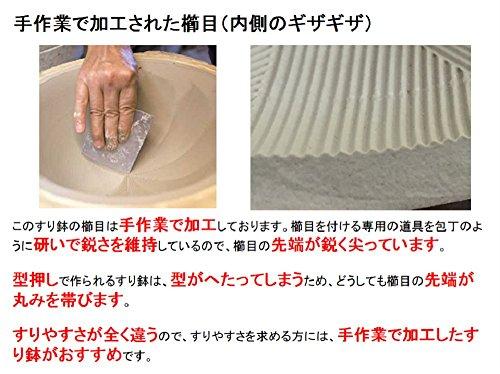 元重製陶所『シリコン付カラーすり鉢7号』