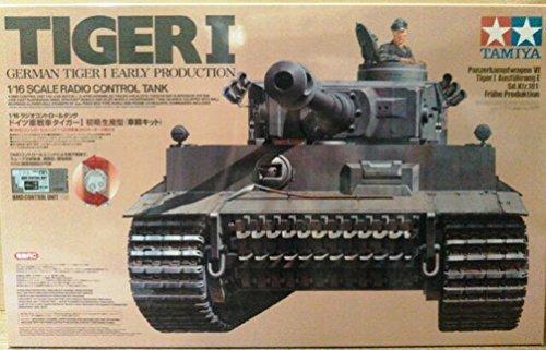 1/16 ラジオコントロールタンクシリーズ タイガーI
