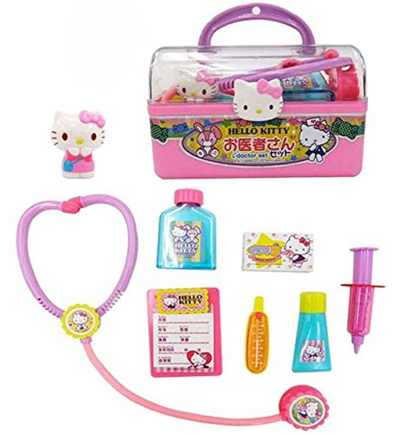Hello Kitty Doctor Set with Case [並行輸入品]