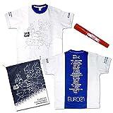 水曜どうでしょう 復刻EURO21 Tシャツ Lサイズ