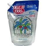 ヤシノミ効果!ヤシノミ100%使用だから安全!人気のヤシノミ洗剤!お買い得!手荒れの酷い季節に!  詰替え用 2回分 大容量1000mL  2個セット