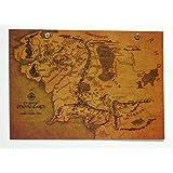地図 lord of the rings ロード・オブ・ザ・リング ポスター 指輪物語 魔法地図 MI16