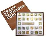 クラフト社 革工具 アルファベット刻印セット 13mm 8301