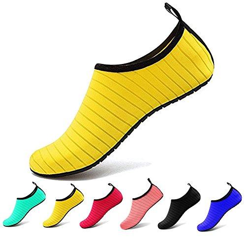 [해외]남녀 겸용 수륙 양용 마린 슈즈 아쿠아 슈즈 부상 방지 해변 비치 샌들 여성 남성 스노클링 신발 클래식 컬러 워터 슈즈 경량 통기성/Unisex dual-use amphibious marine shoes Aqua shoes injury prevention beach sandals women`s men`s snorkelin...