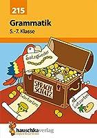 Grammatik 5. - 7. Klasse: Wortarten und Satzglieder. Uebungsprogramm mit Loesungen